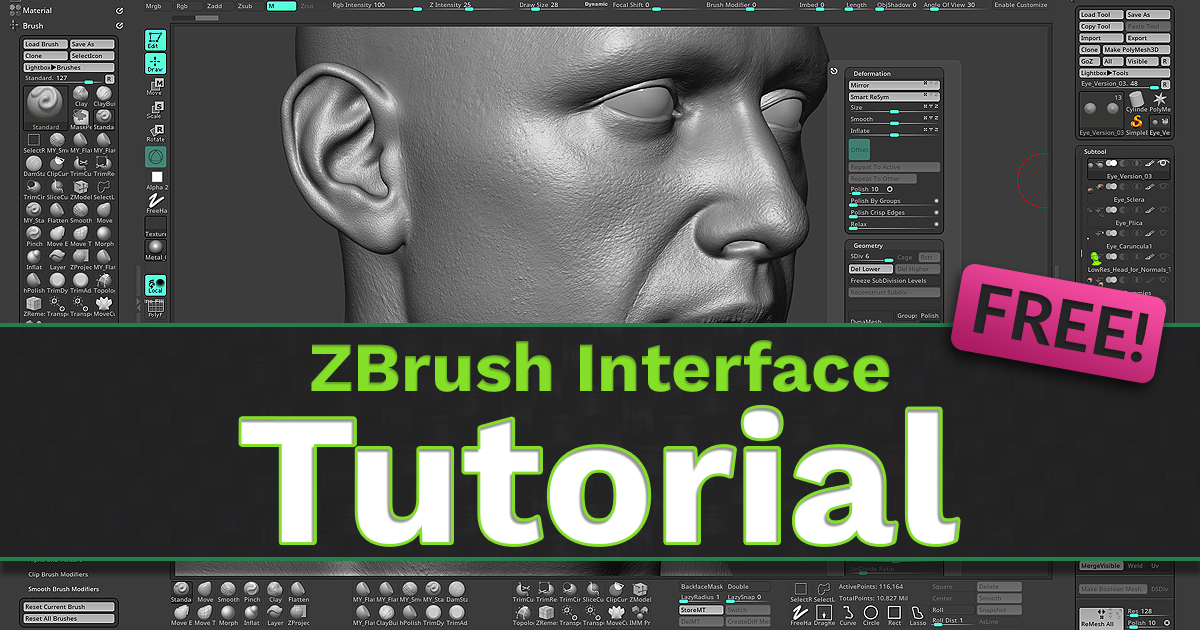 Create Your Own Custom ZBrush User Interface!