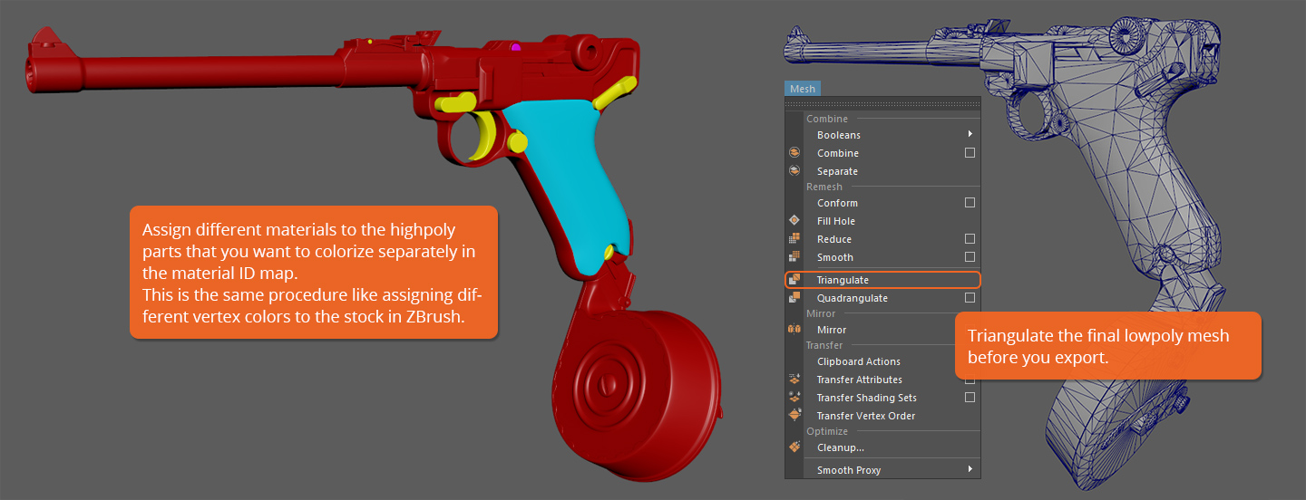 Learn how to model and texture a 3D gun for next-gen games | Part 2